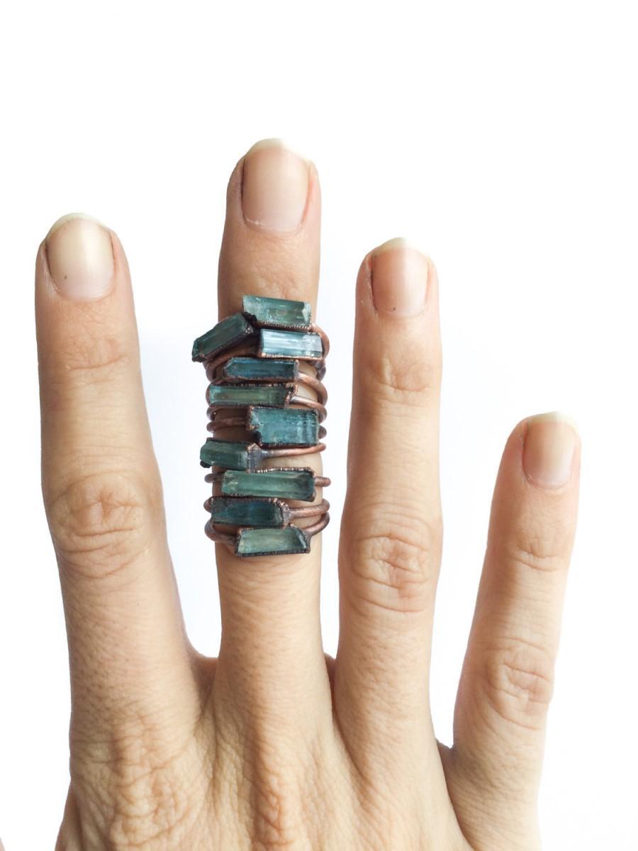 زفاف - Aquamarine engagement ring