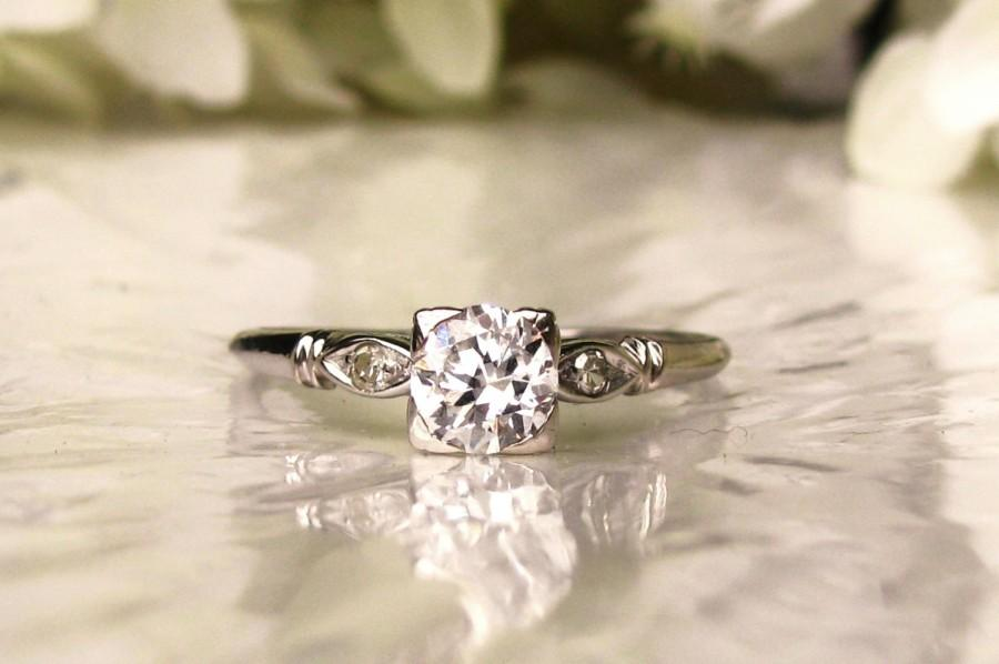 Vintage wedding rings size 8