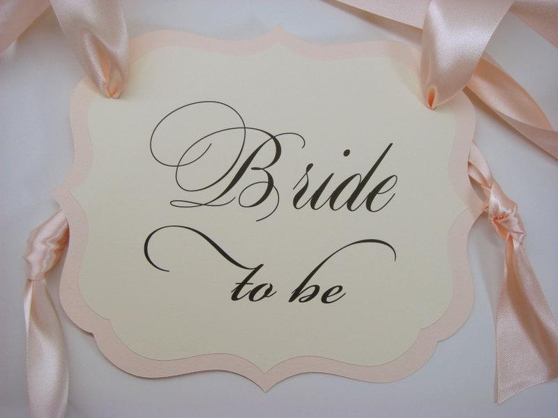 Bride to Be Chair Sign Bridal Shower Decoration Prepared in all of my Card Stock Colors & Bride To Be Chair Sign Bridal Shower Decoration Prepared In All Of ...