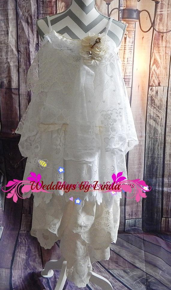 Wedding - Lady's -bohemian-lace-dress-formal-boho