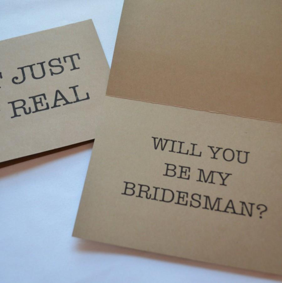 Wedding - Will you be my Man of honor Card SH*T just GOT REAL Card Diamond Bridesman Cards Funny Groomsman Card Bridesmaid Proposal Best Man proposal
