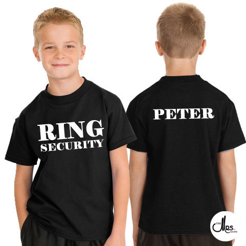 Hochzeit - Ring Security T-Shirt, Ring Bearer T-Shirt, Boys Wedding T-Shirt, ring bearer tee, ring bearer shirt, in charge of the bling, ring security