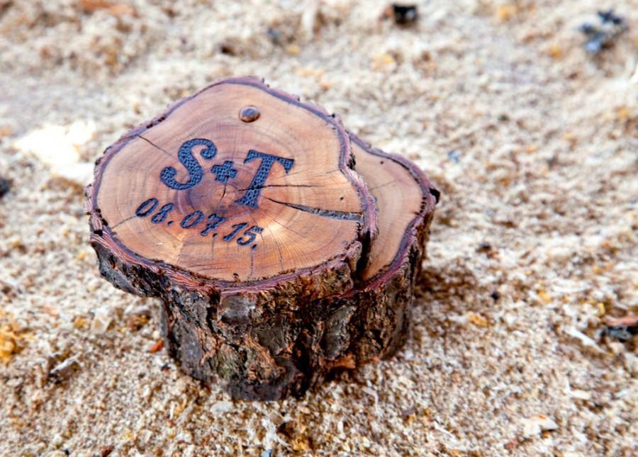 Свадьба - Wood apricot Box,Wood Anniversary Gif,Custom Ring Box,wedding/valentines wooden ring box