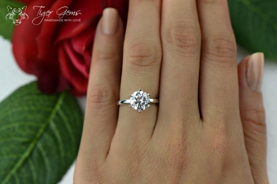 cut carat item silver for women diamond rings simulated luxury halo cushion style engagement