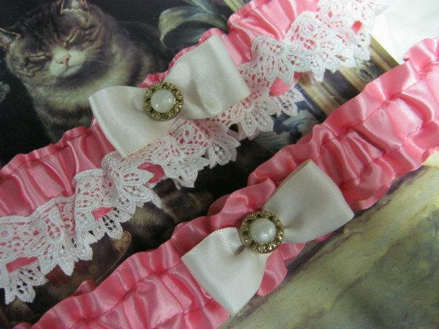 Свадьба - Coral Garter Set