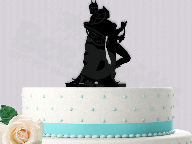Decor Batman And Catwoman Cake Topper 2428200 Weddbook
