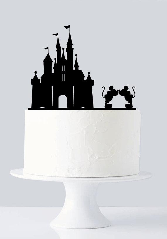 Minnie And Mickey Wedding Cake