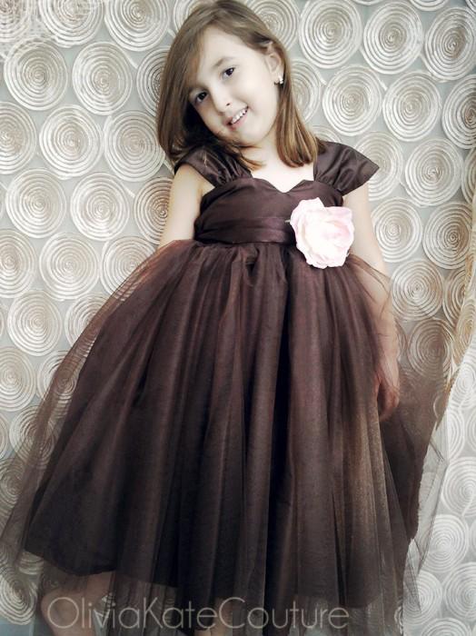 زفاف - Flower Girl Dress Tutu Dress
