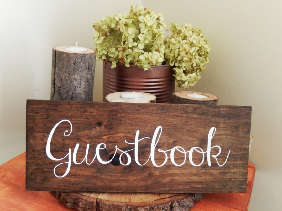 Свадьба - Guestbook Sign Wooden Guest Book Sign Rustic Guestbook Sign  Wedding Guest book Sign Rustic Wedding Garden Wedding