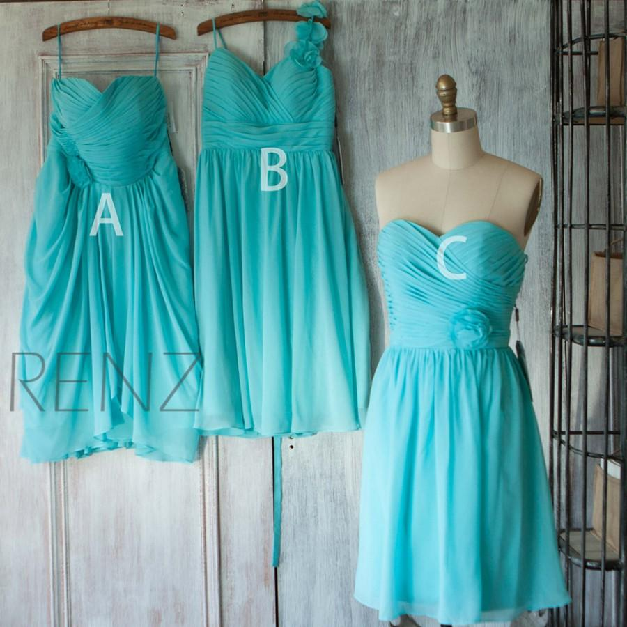 2015 Mix And Match Bridesmaid Dress, Short Wedding Dress, Prom Dress ...