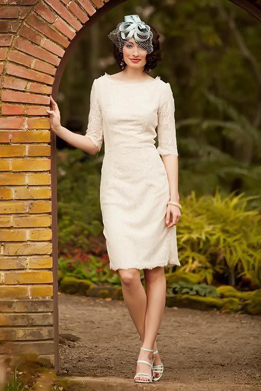 Hochzeit - Shabby Apple With This Ring Dress Cream