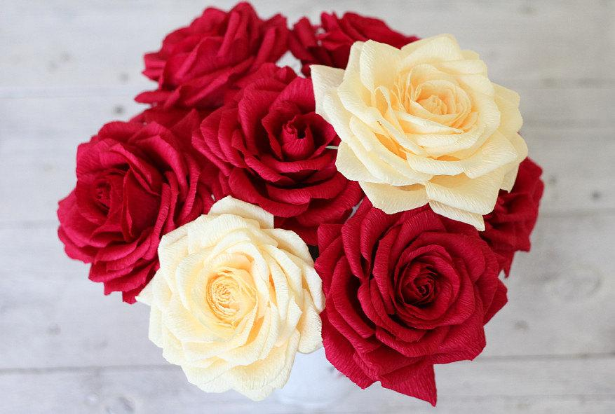 Christmas wedding 5 pcs wedding flower wedding flower bouquets christmas wedding 5 pcs wedding flower wedding flower bouquets wedding paper bouquet bridal flower wedding paper bridal bouquet paper flower mightylinksfo