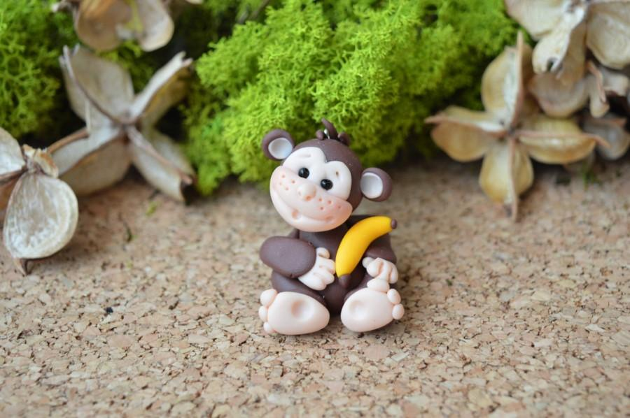 Custom Monkey Cake Topper For Birthday Baby Shower Wedding