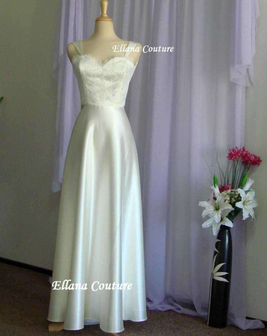 Sample sale marielle retro glam bridal gown vintage for Sample sale wedding dress