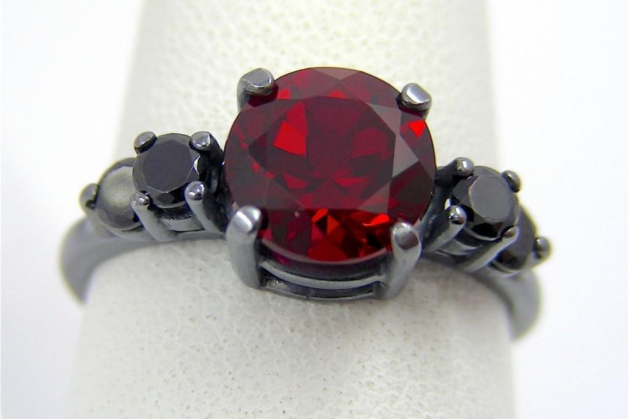 Gothic Engagement Ring