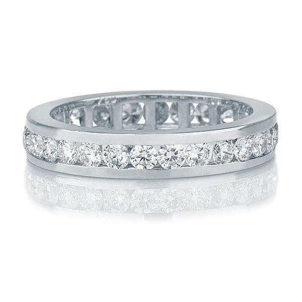 art deco wedding band 14k white gold wedding ring 14 tcw diamond wedding band womens wedding band gold wedding ring