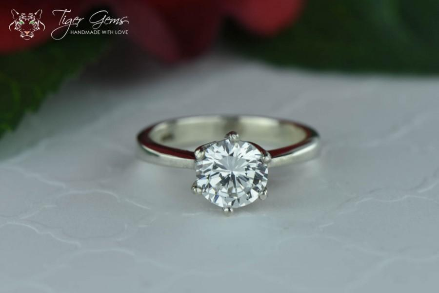 1.5 Carat Classic Solitaire Engagement Ring 7608ad8c0