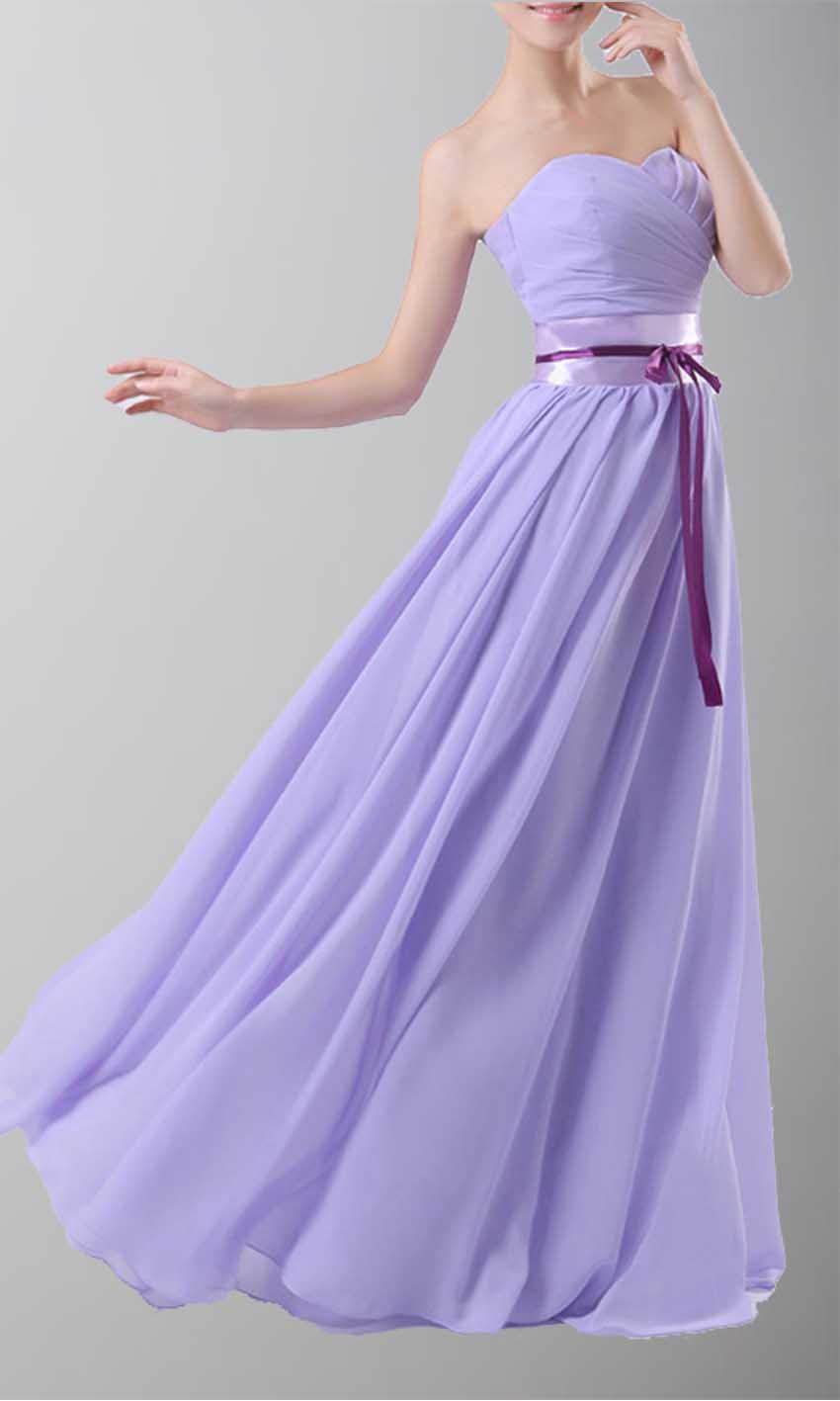Wedding - Strapless Sweetheart Long Chiffon Bridesmaid Dresses KSP107 [KSP107] - £85.00 : Cheap Prom Dresses Uk, Bridesmaid Dresses, 2014 Prom & Evening Dresses, Look for cheap elegant prom dresses 2014, cocktail gowns, or dresses for special occasions? kissprom.co