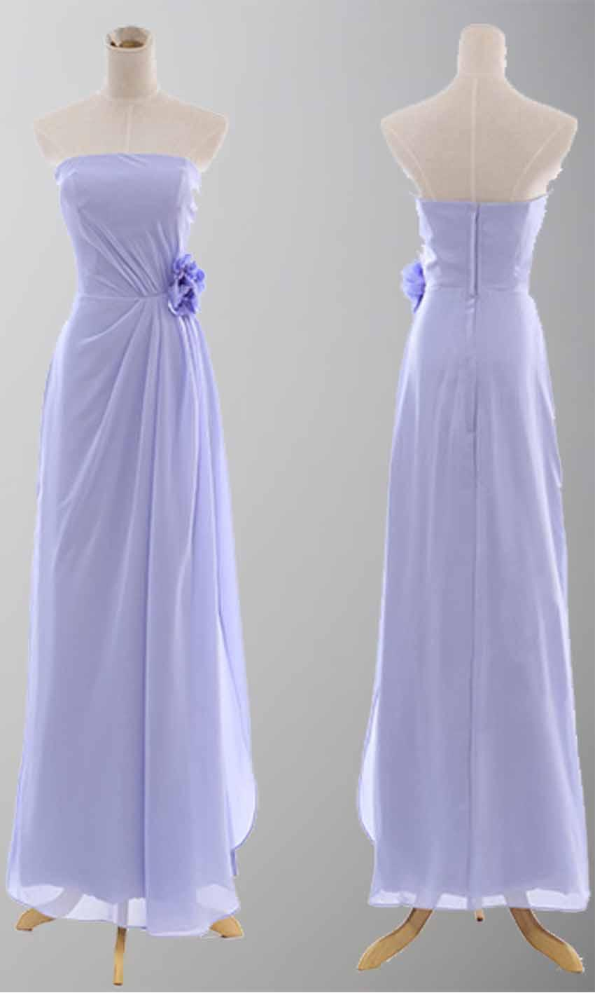 زفاف - Slit A-line Strapless Lilac Long Prom Dress KSP083 [KSP083] - £88.00 : Cheap Prom Dresses Uk, Bridesmaid Dresses, 2014 Prom & Evening Dresses, Look for cheap elegant prom dresses 2014, cocktail gowns, or dresses for special occasions? kissprom.co.uk offer