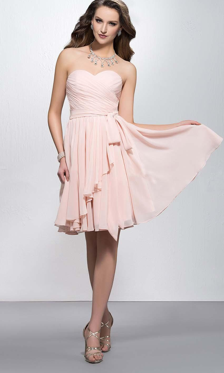 79d829ce86 Light Pink Sweetheart Ruffled Short Bridesmaid Dresses KSP390  KSP390  -  £77.00   Cheap Prom Dresses Uk