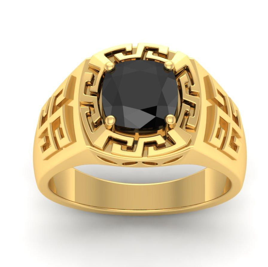The Black Stud Diamond Rings For Him Weddbook