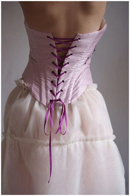 Свадьба - wedding dress boned Parmamariee