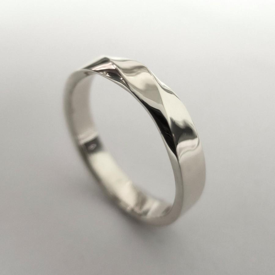 Mobius Ring Platinum Ring Wedding Ring Platinum