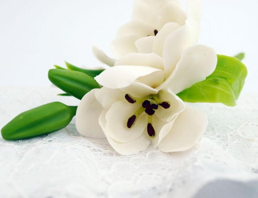 Hochzeit - Hair Beak Clips - Beak Clip - Hair Accessories - Fashion Flower Floral - Women Accessories - Wedding Hair Pieces