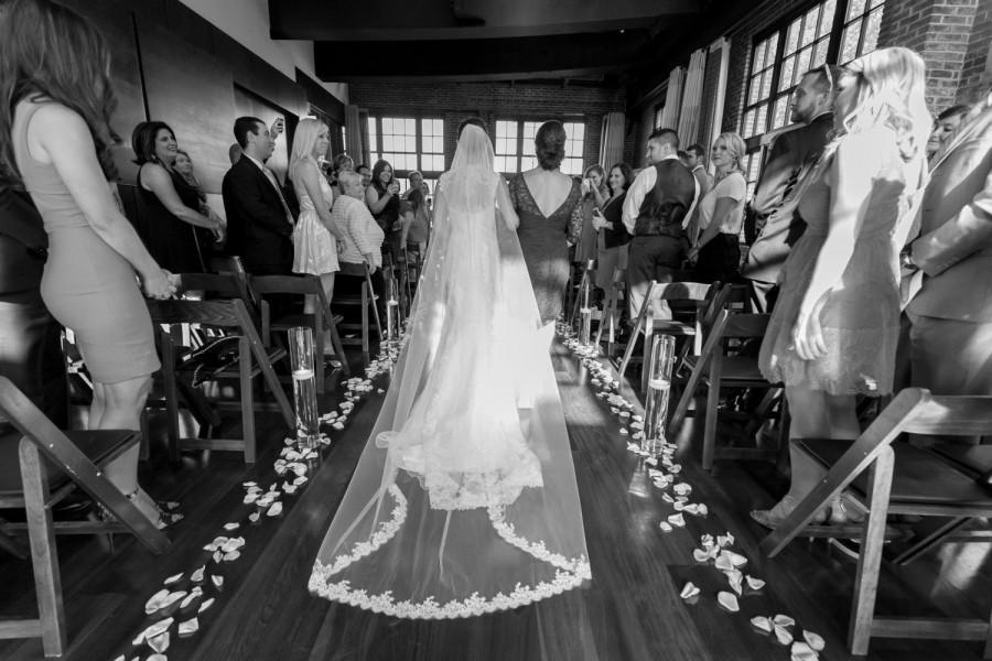 Hochzeit - WINTER SALE 20% Off!  Cathedral French Alencon LACE Edge Veil