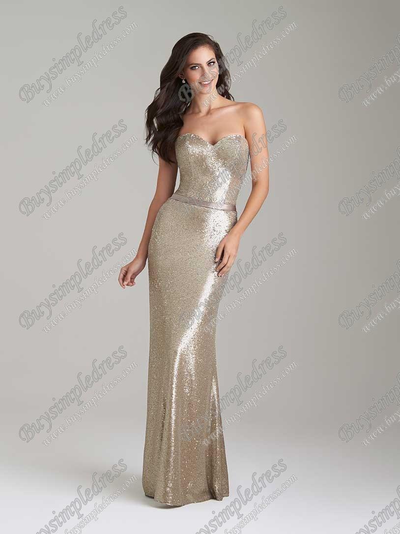 Hochzeit - Allur Bridesmaid Dress Style 1471