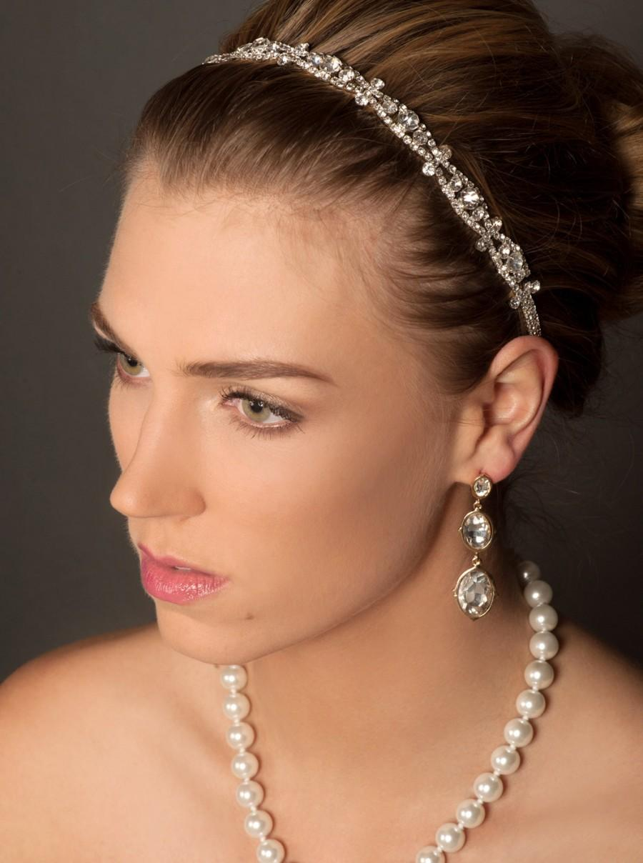 bridal hair clips in stock wedding hair accessories Porcelain Flower Pearl and Marquise Crystal Bridal Clip