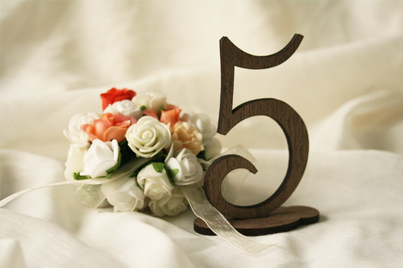 Mariage - wedding table numbers ( set of 15 ) wooden table numbers - rustic wedding - table numbers wedding - rustic table numbers