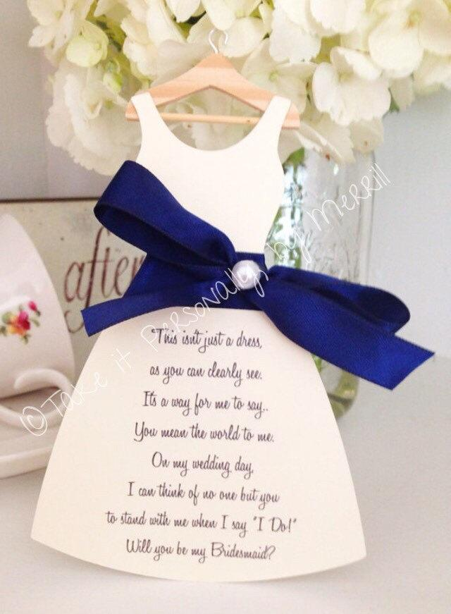 1offSALE Price As Marked Will You Be My Bridesmaid Cards Wedding ...