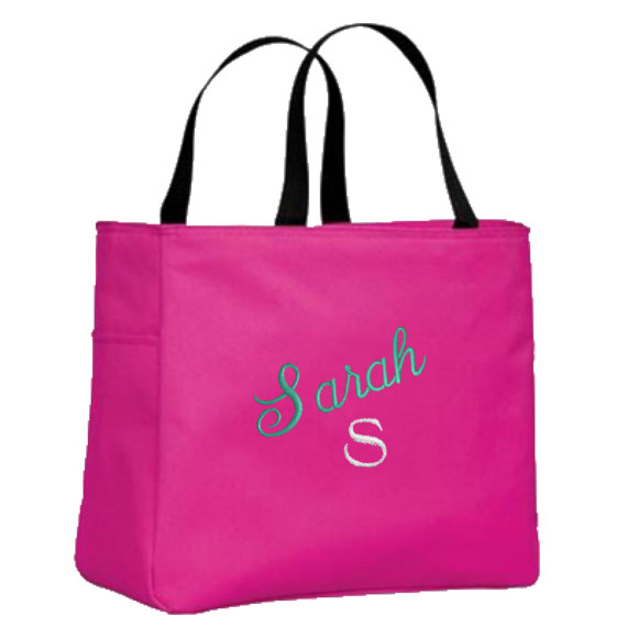 Hochzeit - Personalized Tote Bags for Bride, Bridesmaid, Maid of Honor, Mother of the Bride, Mother of the Groom