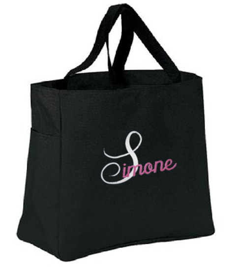 Hochzeit - Personalized Tote Bags for Brides, Bridesmaids, Maid of Honor, Bridal Gifts