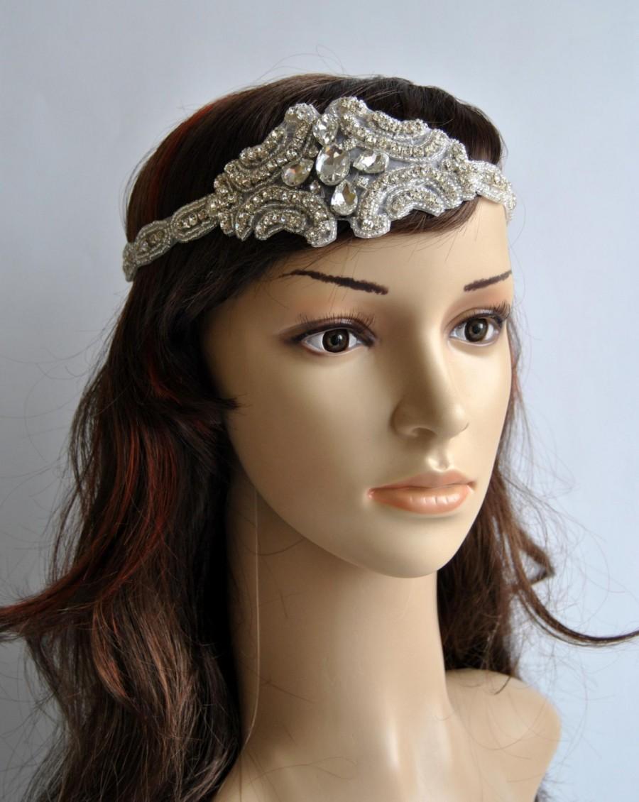 Crystal Rhinestone 1920s Headpiece ec0217f5c19