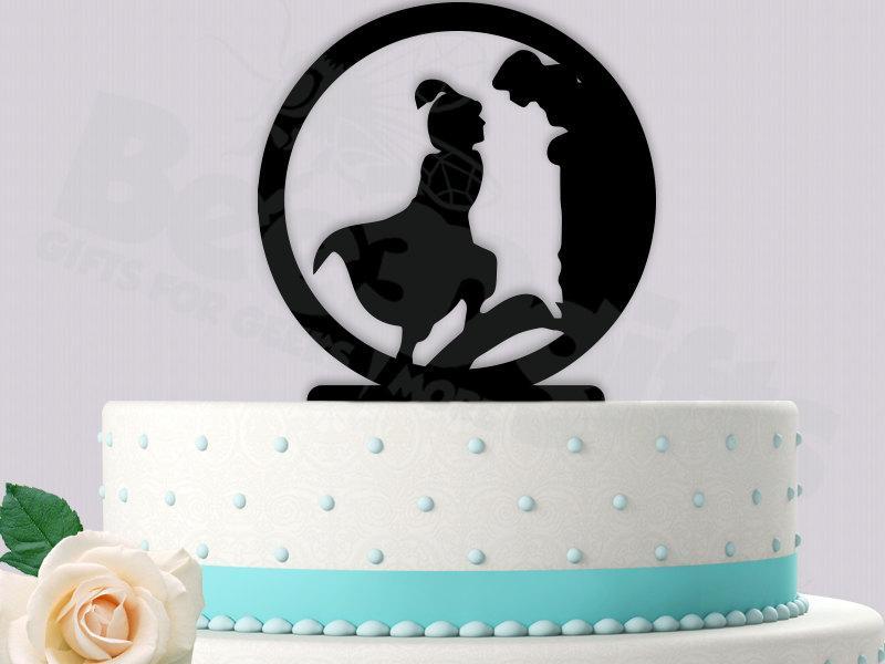 Свадьба - Aladdin Wedding Cake Topper part 2