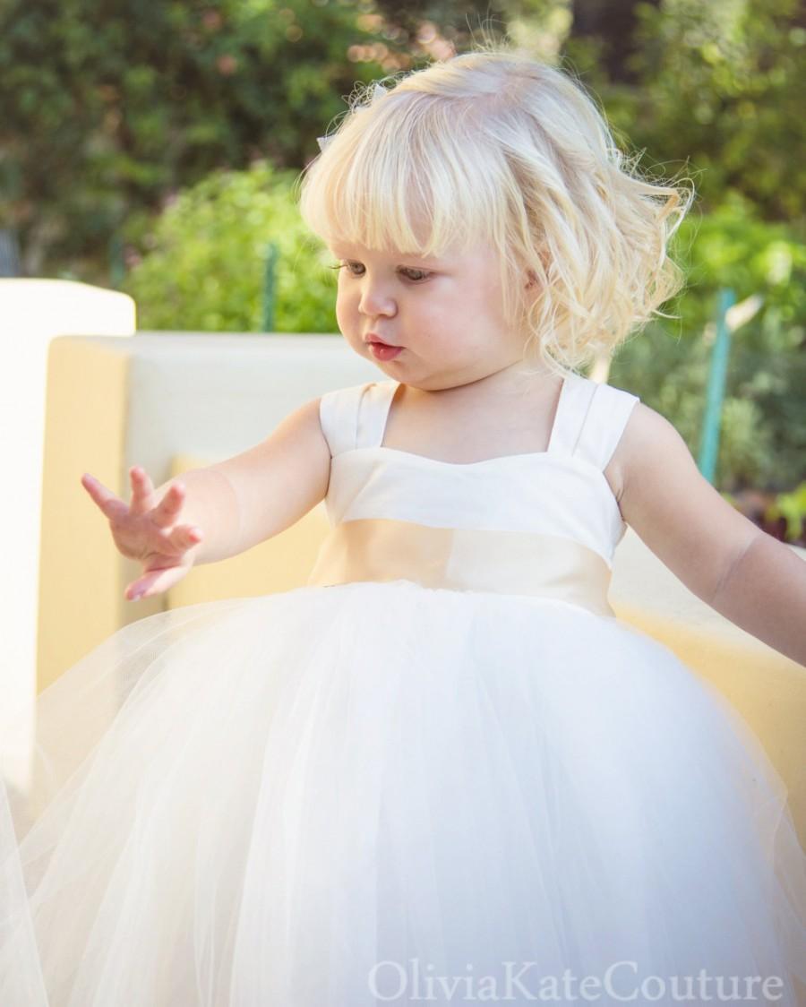 Hochzeit - Flower Girl Dress Toddler Baby