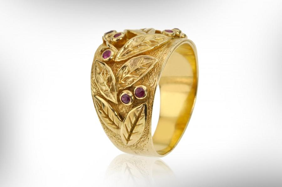 Exclusive Vintage Style 14k Gold Ring Design Gold Plated Silver
