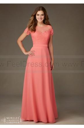 زفاف - Mori Lee Bridesmaids Dress Style 124