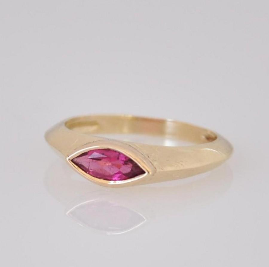 زفاف - Fine Jewelry Ring , Gemstone Ring Gold , Gemstone Engagement Ring , Unique Engagement Ring , Pink Wedding Ring , Gemstone Ring