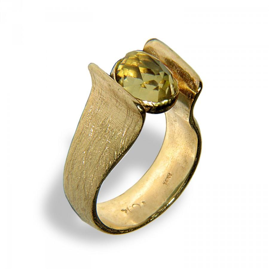 gold wg stone with white diamond in ring pave jewelry fascinating nl engagement alternative fancy diamonds rings