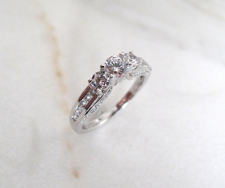 Mariage - AmourJewellery - Fine Handcrafted Engagement Ring; Style RB0022; 14K Gold