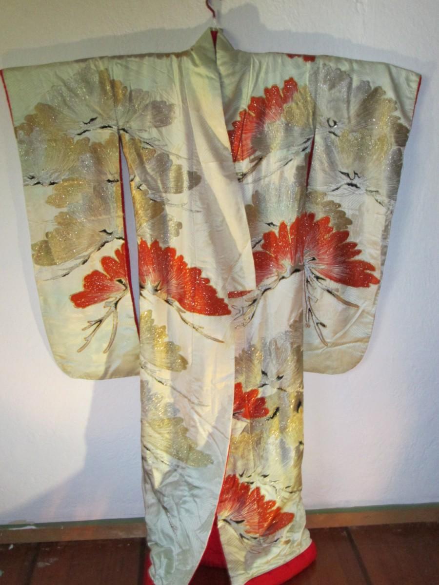 wafuku kimono japanese glossary vintage antique bamboo