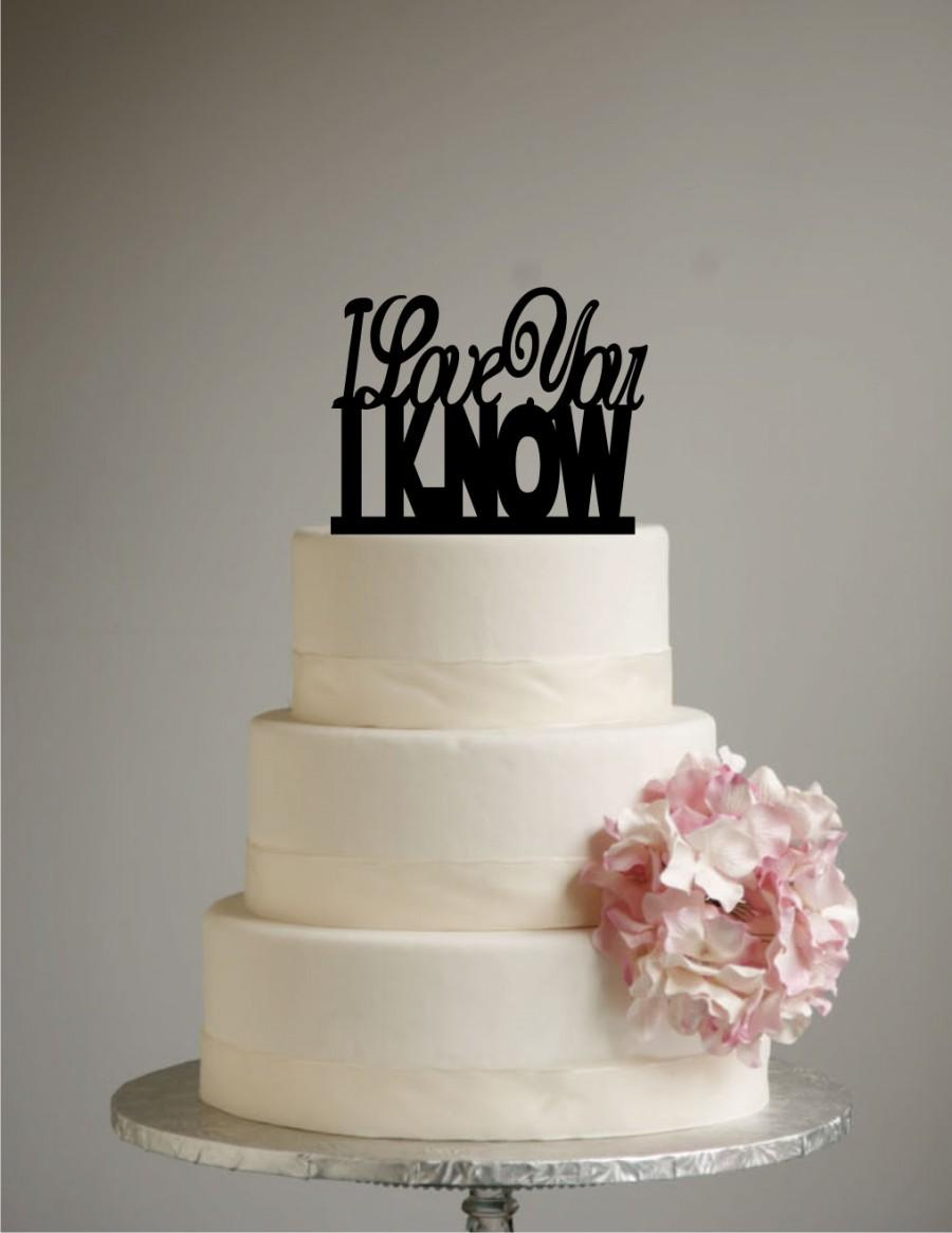 Princess Leia Wedding Cake Topper