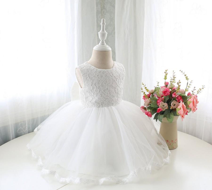 Super Elegant Ivory Flower Girl Dress Birthday Party Dress