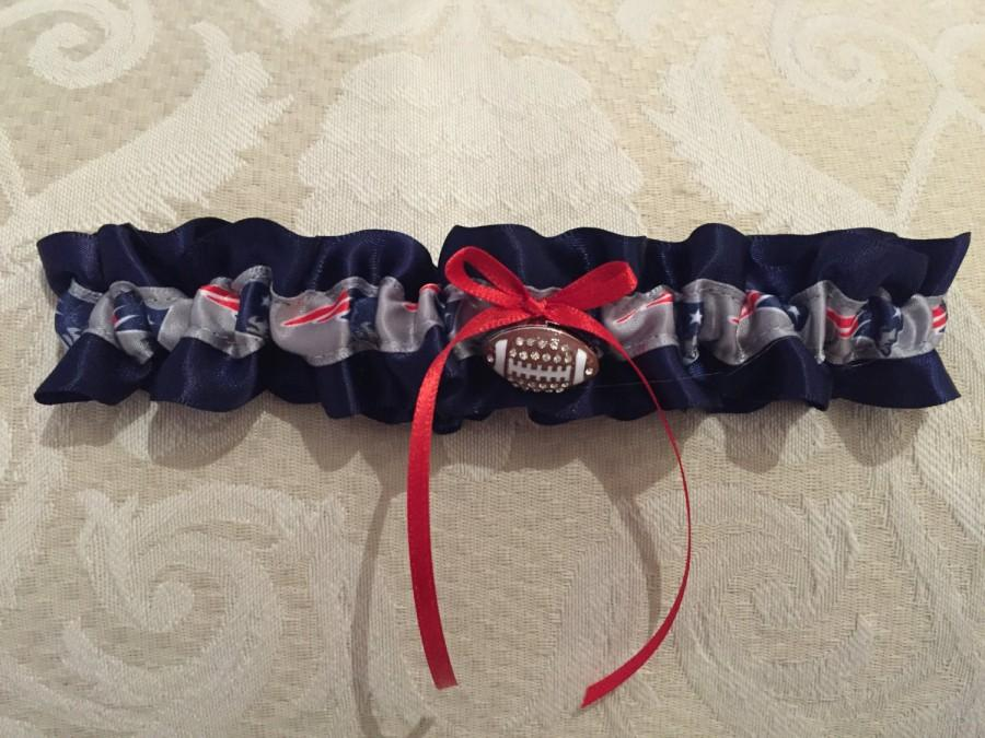 Wedding - New England Patriots Garter