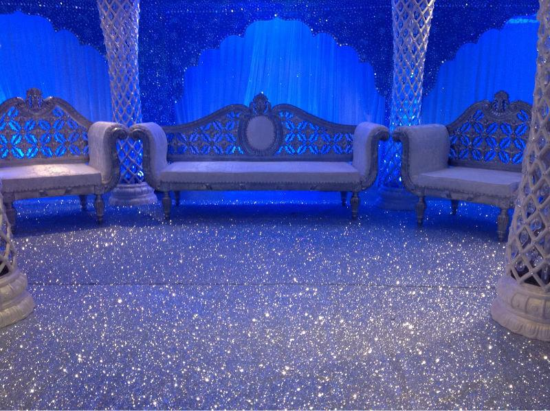Nozze - Non slip GLITTER PU Leather Fabric Stage Carpet, Wallpaper or Glitter Aisle Runner, Sparkle Aisle Runner. Glam Wedding, Glitter Leather