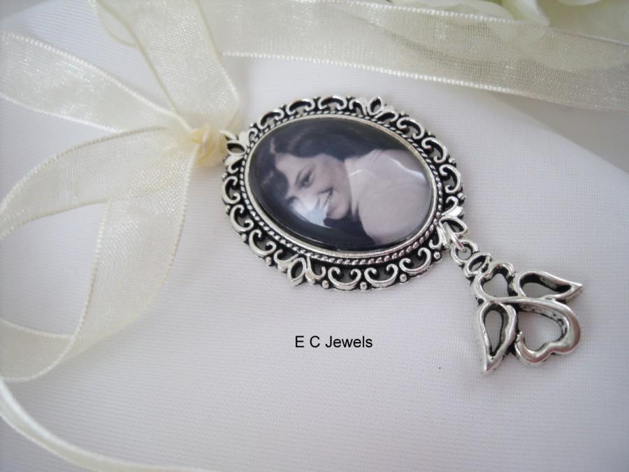Mariage - Angel Custom Photo Bouquet Charm