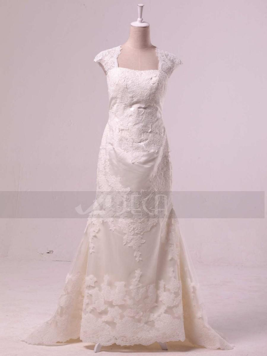 Dress 1940s vintage inspired lace wedding gown 2432735 for Vintage inspired lace wedding dresses